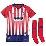 Nike 2018-2019 Atletico Madrid Home Little Boys Mini Kit