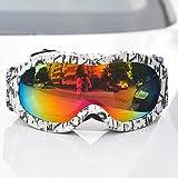 LYLhmj Skibrille Kinder Ski Snowboard Brille Brillenträger Snowboardbrille Schneebrille Verspiegelt...