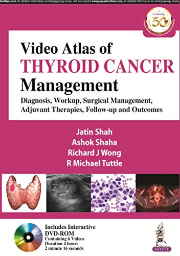 Video Atlas Of Thyroid Cancer Management Dvd-Rom (Containing 6 Videos) Only
