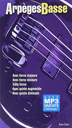 Tauzin Bruno Arpeges Basse Bass Guitar Book Petit Format par Various