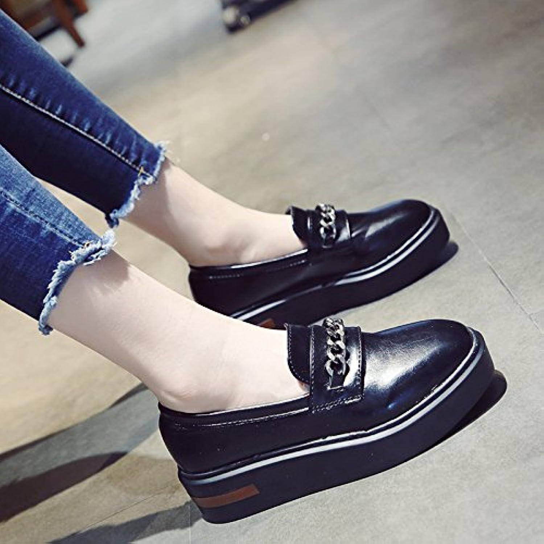 KPHY-autunno nuovo Pan Pan Pan di Spagna scarpe di spessore singolo donne piccole scarpe di cuoio versione coreana dello...   attività di esportazione in linea  ba04b8