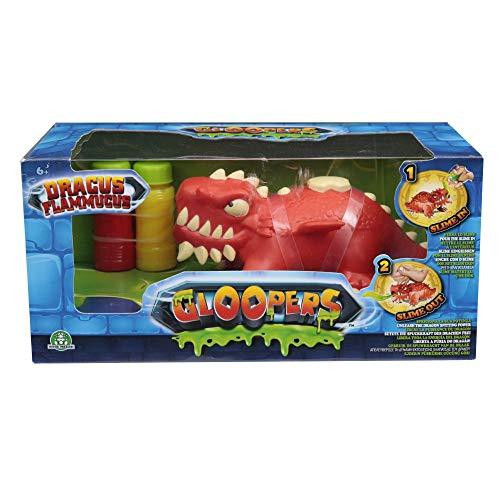 Gloopers 70691301 Drache Action Spielzeug mit Schleim, rot