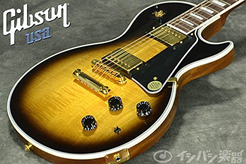 Gibson LPCCLTVSGH1 Les Paul Custom E-Gitarre Classic Light Vintage Sunburst - Les Paul Custom Classic
