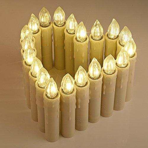 Led Weihnachtsbeleuchtung Ohne Kabel.Kabellose Led Christbaumkerzen Led Kerzen Test