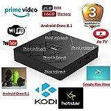 HK1 Mini Android 8.1 Oreo 2GB/16GB Android TV Box,Jio TV, Video,Hotstar-x96 max,x96 Mini,tx3