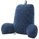 Best Blue Wave Soft Pillows - LOLPI Multifunction Shredded Foam Backrest Reading Pillow Support Review