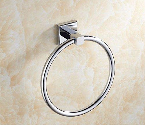base-quadrata-in-ottone-solido-anello-portaasciugamano-accessori-per-bagno