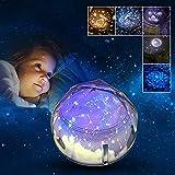 Jungen Geschenke 3-10 Jahre Joy-Jam Nachtlicht Sternenhimmel Projektor Nachtlicht Kinderzimmer Night Light Baby Schlafen Entspannung Geschenk Mädchen Haus Dekoration Konstellation Weihnachten Geburtstagsgeschenke