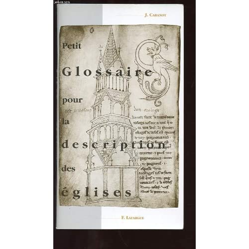 Petit glossaire pour la description des églises