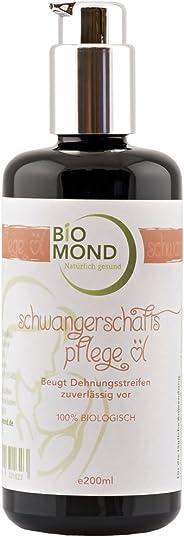 BIO Schwangerschafts-Pflegeöl Schwangerschaftsöl Mama von BIOMOND / 200 ml / ohne Zusatzstoffe / Naturkosmetik / von Hebammen
