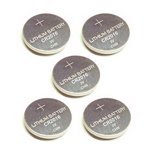 5 PILES CR2016 BR2016 DL2016 ECR2016 5000LC L10