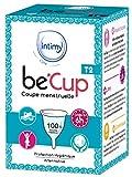 Lot de 2 coupes menstruelles Be'Cup - Taille 2 (moyenne)