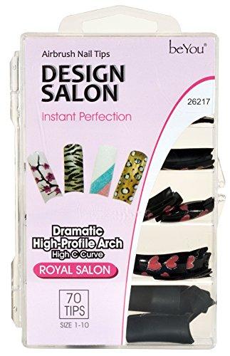 BEAUTIQUE Professional Glue-On Design Nails - BQ26217