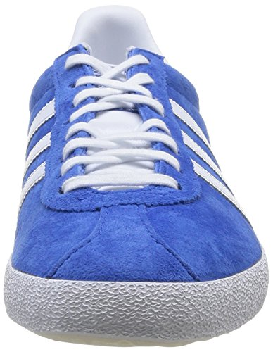 adidas Gazelle OG Herren Sneakers Blau (Air Force Blue/White/Metallic Gold)