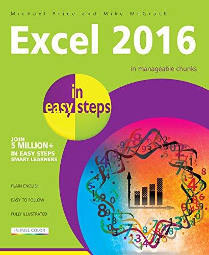 Excel 2016 in easy steps