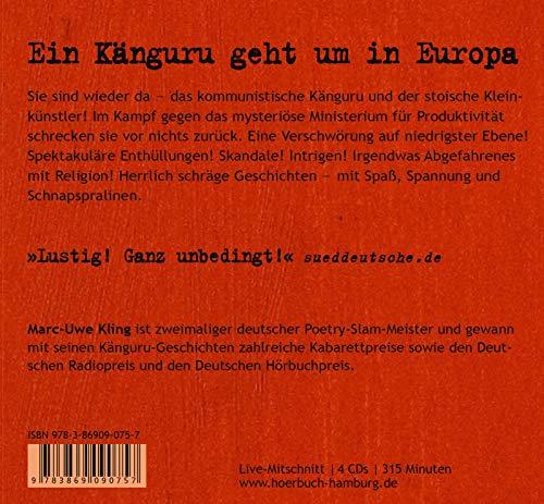 Das Känguru-Manifest: 4 CDs - 2