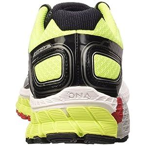 Brooks Adrenaline Gts 16 M - Zapatillas de running Hombre, Black/Nightlife/High Risk Red, 44.5 EU (9.5 UK)