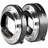 Neewer Auto Focus Macro Tube d'Extension 10mm et 16mm Métal AF pour Sony E-Mount NEX3/3N/5/5N/5R/A6000/A6300 et A7 A7S/A7SII A7R/A7RII A7II