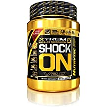 Integratore Shock On nox Pre-workout ossido nitrico con Citrullina, Arginina AKG, Beta Alanina, Caffeina, Ribosio, ALA acido alfa lipoico e Tirosina Confezione 500 g