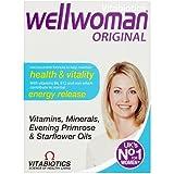 Vitabiotics Wellwoman Advanced Vitamin & Mineral Formula With Evening Primrose & Starflower Oils, 30 Capsules