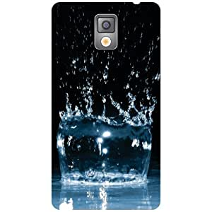 Via flowers Water Matte Finish Phone Cover For Samsung Galaxy Note 3