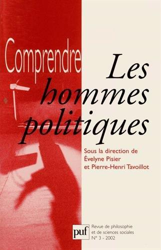Comprendre, numéro 3 - 2002 : Les Hommes politiques