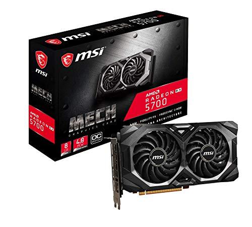 MSI Radeon RX 5700 Mech OC - Tarjeta gráfica Enthusiast (256 bits,...