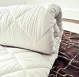 Duo -BETTDECKE Merino Wolle Bettdecke Schurwolle Übergang BETTDECKE 220 x 240 cm, 4 Wärmeklasse,Warm, 100% Merino-Schurwolle 100% Baumwolle.Schurwolle bettdecke 220 x 240 cm