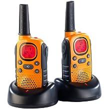 PMR-radios-juego de maleta, IPX2 resistente al agua, emergencia, de hasta 10 km