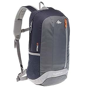 Quechua ARP 20 Hiking Backpack, 20Liters (Black/Grey)