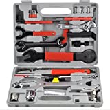 Must Have! Professional 44 piece Maintenance Tool Kit Set / Bicycle Bike Bicycling Biking Recreation Exercise Sport Cyclists Biker Parts Clothing Mountain Mtb Components Road Supplies Cycle Outfit Men Women Unisex Clothes Apparel Outdoor Trailer Pump Trainer Bell Cover Stand Cage Rack Pannier Holder Seat Frame Basket Bag Water Mount Wheel Stuff Supplies Birthday Gift Item Shop Store Buy Gear Friend Mom Dad Brother Sister The Best High Quality Unique Special