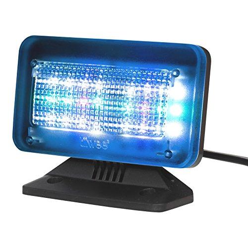tiiwee TV Simulator PowerPlus - 24 LEDs Fernsehsimulator fake TV für Fernseher ab 42 Zoll - Einbruchschutz