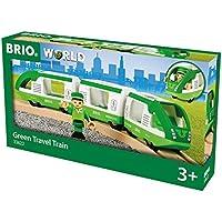 Brio 33622 trene de Juguete - Trenes de Juguete (Verde, Madera, 3 año(s), 292 mm, 37 mm, 50 mm)