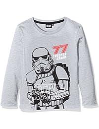 Star Wars-The Clone Wars Darth Vader Jedi Yoda Jungen Langarmshirt 2016 Kollektion - grau