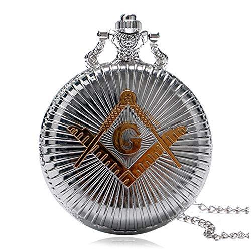 Reloj De Bolsillo, Albañil freim aurerei Vintage Colgante g Gob Pocket Relojes Regalos
