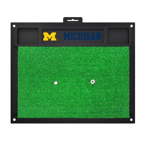 Fanmats 15509Universität von Michigan Golf Hitting Matte