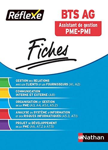 Fiches Réflexe - BTS Assistant de Gestion PME-PMI