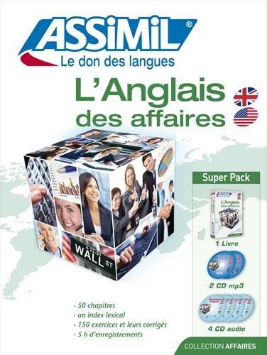 Anglais des affaires : livre + 4 CD Audio + 1 CD mp3