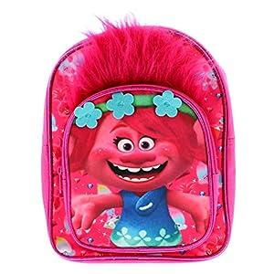 51HcNbeYxaL. SS300  - Trolls Novelty - Mochila para niños (material sintético), color rosa y azul