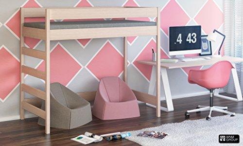 Gebraucht, Hubi Loft Etagenbett Seite geben Sie mit Matratze Kostenloser gebraucht kaufen  Wird an jeden Ort in Deutschland