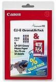 Canon Tintenpatrone CLI-8 Multipack, farbig