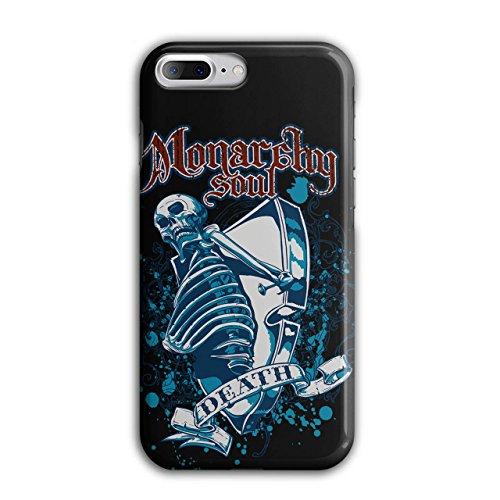 Monarchie Seele Tod Schädel Schädel Sarg iPhone 8 Plus Hülle | Wellcoda