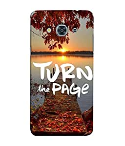 PrintVisa Designer Back Case Cover for Samsung Galaxy J2 (6) 2016 J210F :: Samsung Galaxy J2 Pro (2016) (Dusk Dawn Sunrise Sunset Lake Water Bodies)