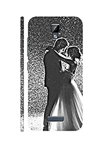 SRS Beautiful Couples 3D Back Cover for Gionee P7