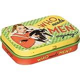 Nostalgic-Art 81270 Say it 50's - Who Needs Men?, Pillendose