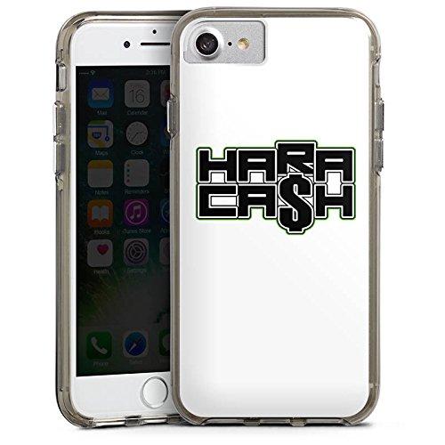 Apple iPhone 5c Silikon Hülle Case Schutzhülle Elotrix Merchandise Zubehoer Youtuber Bumper Case transparent grau