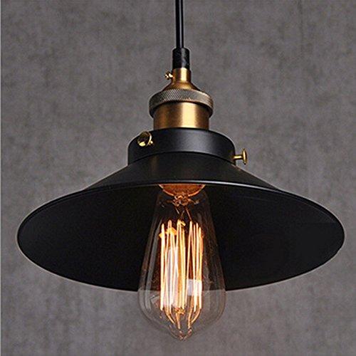 industrial vintage pendant light shade retro ceiling lighting restaurant pendant lamp shade e27 base