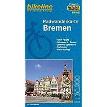Radwanderkarte Bremen 1:60 000 (RW-HB1) (bikeline Radwanderkarte)
