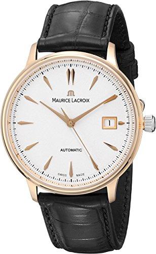 Reloj Automático Maurice Lacroix Les Classiques Date, ML155, Oro 18K, 38mm, Piel