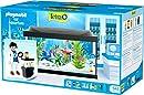 Tetra Starter Line Playmobil Starter line, 54 Liter Aquarium-Komplettset mit LED-Beleuchtung stabiles Einsteigerbecken mit Technik, Futter und Pflegemitteln